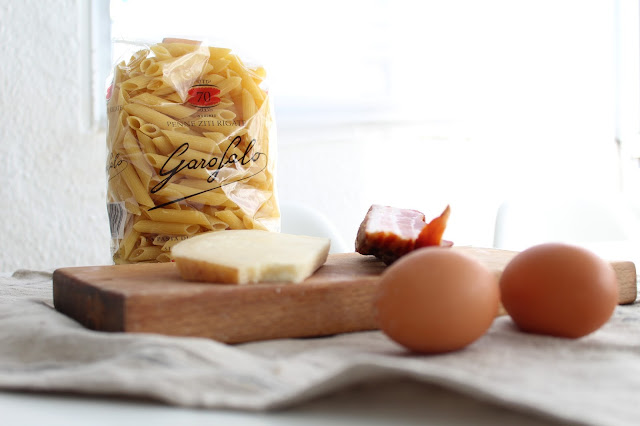 la pasta carbonara más fácil del mundo