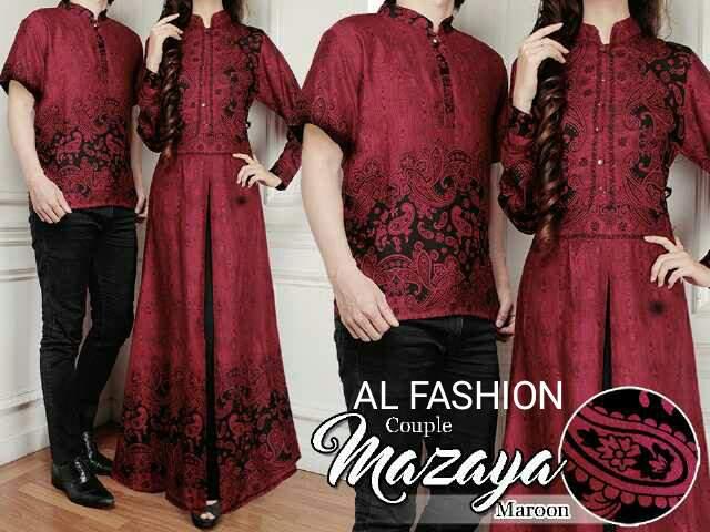 3 Model Baju Batik Couple Modern Model Desain Keren Terbaru