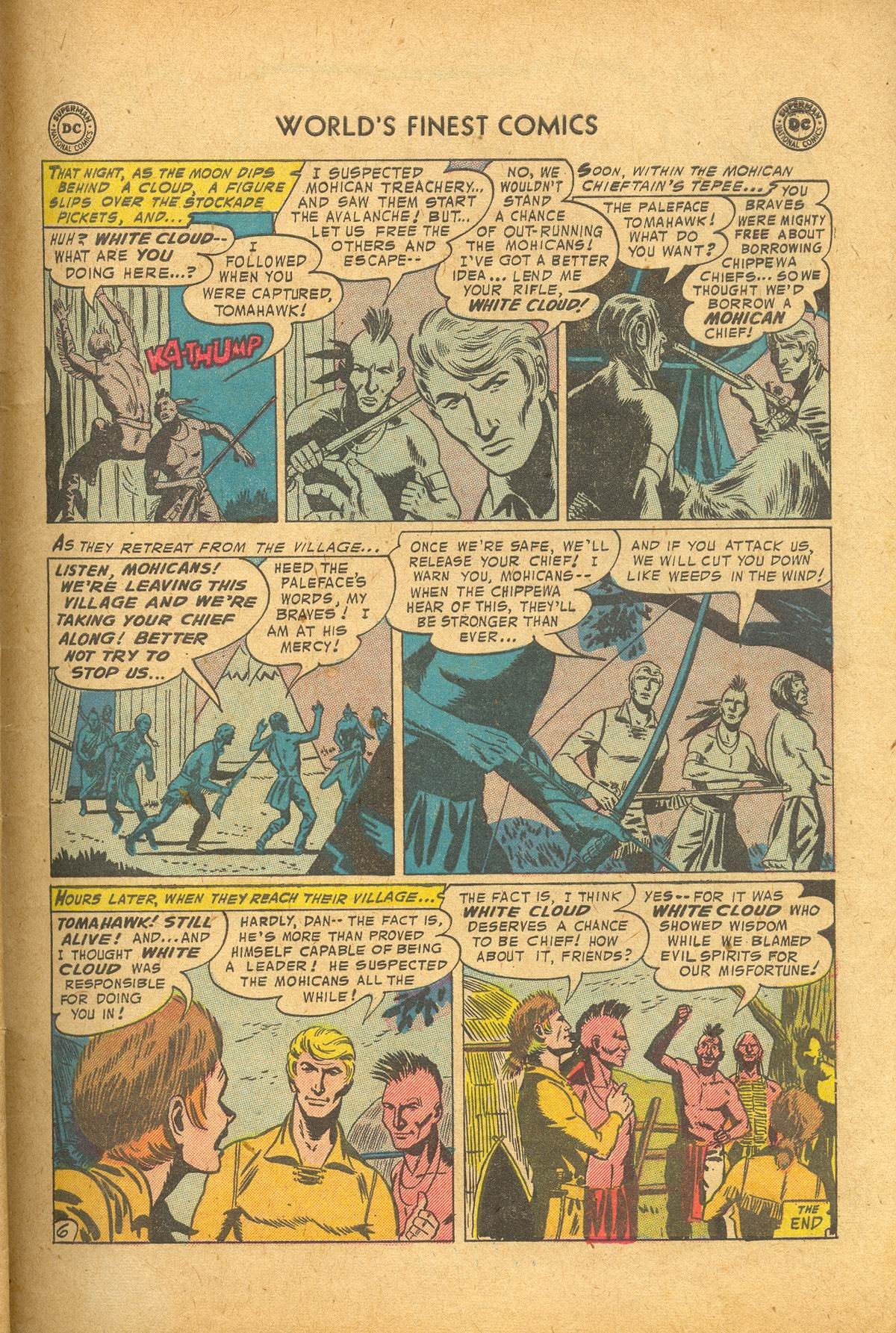 Read online World's Finest Comics comic -  Issue #83 - 33