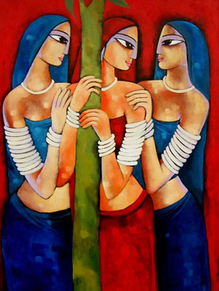 Sekhar Roy. Современный индийский художник 15