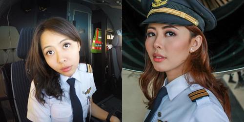 Para Pilot Cantik Asal Tanah Air ini Siap Mengajak Terbang Hati Kamu Kemana Aja Kamu Mau.