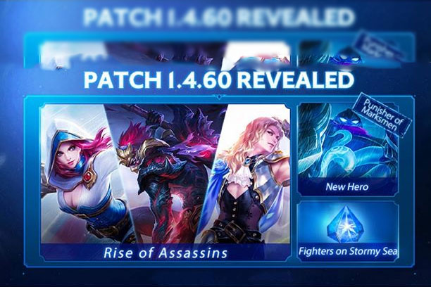 Mobile Legend Patch 1.4.60