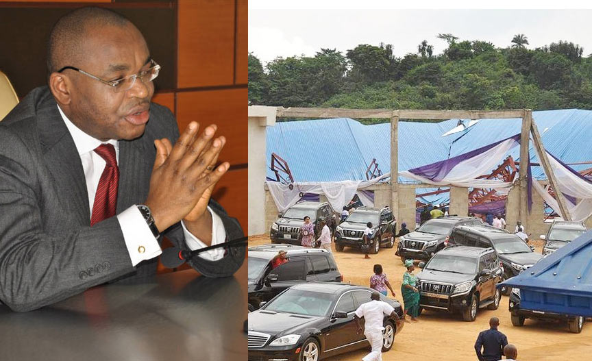 How security aide died while saving Governor Emmanuel as Reigners Bible Church collapsed