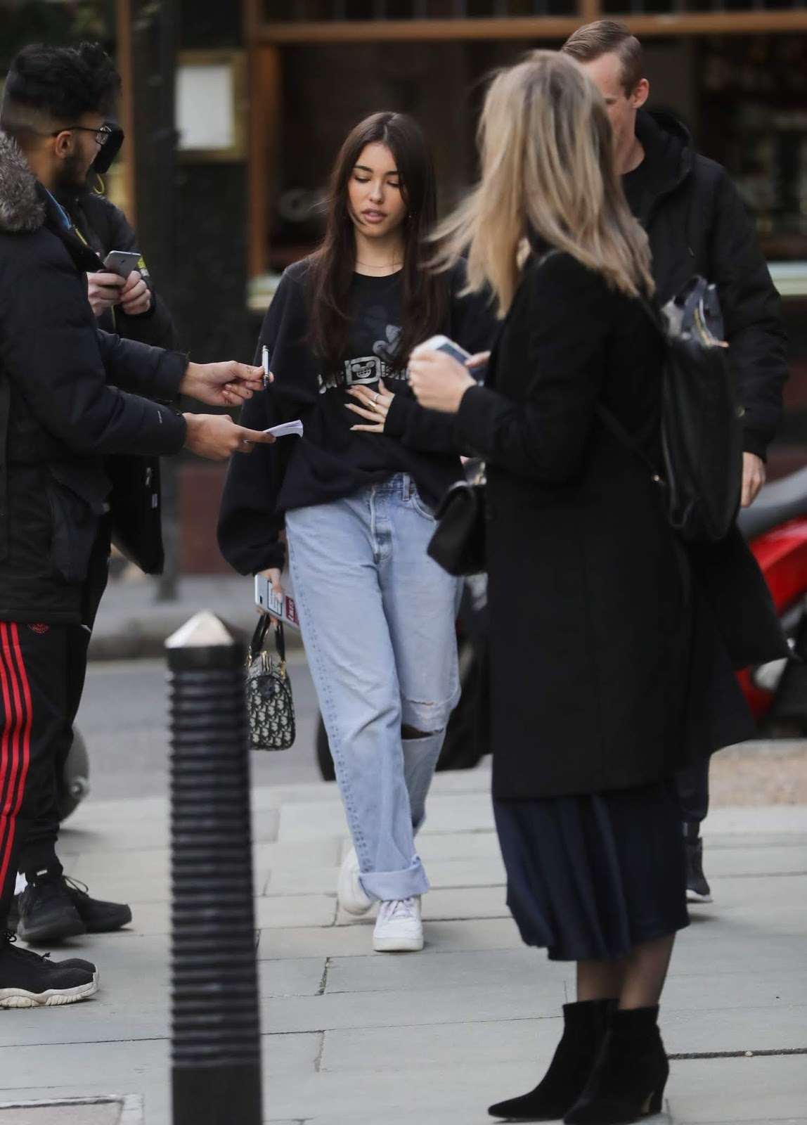 Madison Beer at TV Studios AOL Build in London - 02/20/2019