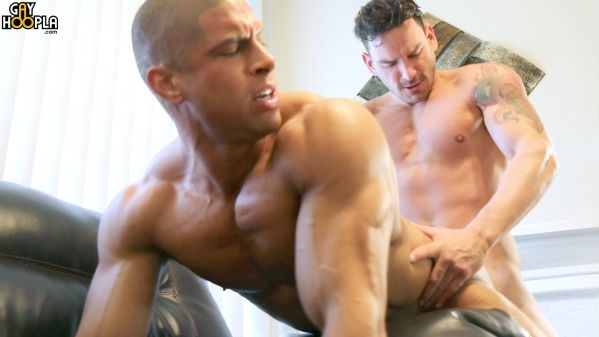 Bad Boy Blake Jackson FCKS Bodybuilder Sean Costin