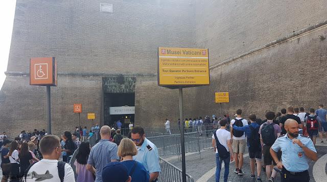 entrada, Museus Vaticanos, Vatican Museum, Vaticano
