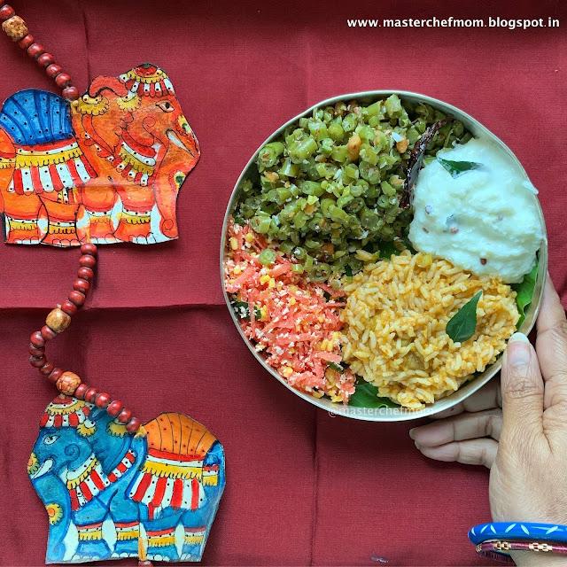 Indian Thali Ideas  by Masterchefmom