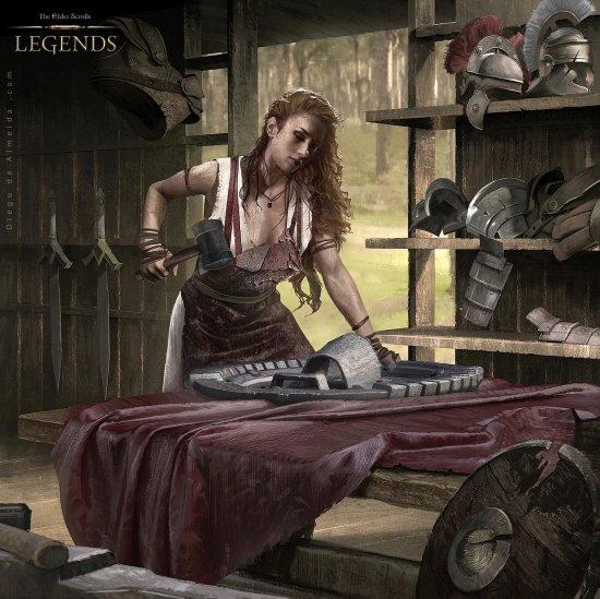 Diego de Almeida Peres artstation arte ilustrações fantasia games
