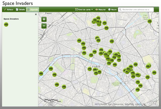 space invaders paris carte arcOrama: Le blog consacré aux technologies SIG Esri