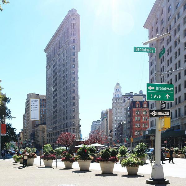 Ein Ausflug nach Washington D.C.und noch ein paar Tage in New York | Flatiron Building