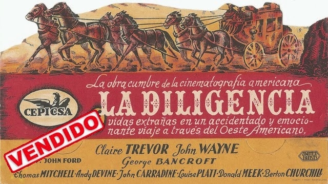 Programa de Cine - La Diligencia - John Wayne - Claire Trevor