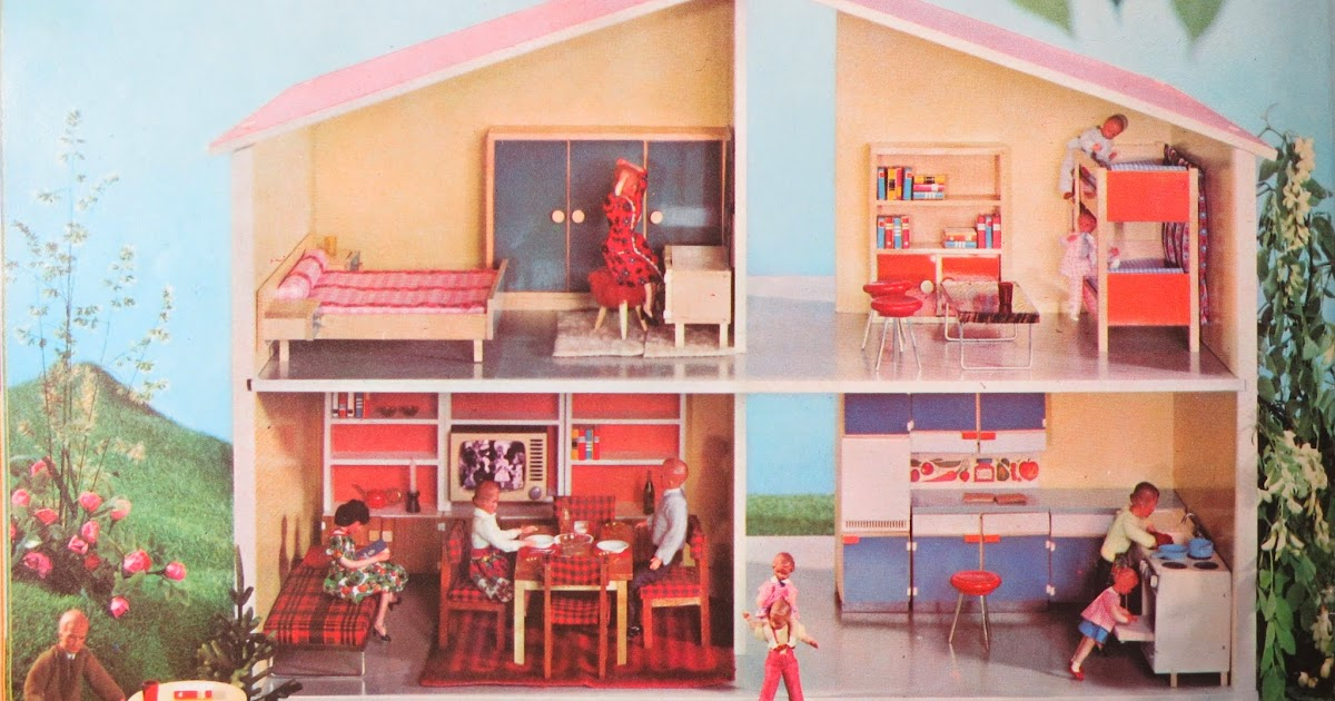 diepuppenstubensammlerin puppenhaus 1966 bodo hennig dolls house. Black Bedroom Furniture Sets. Home Design Ideas