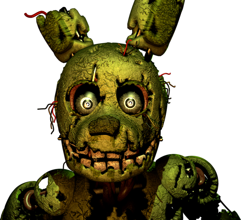 Cyber's Database: SpringTrap V1 Released (Only For Winmugen