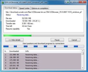 Speed Test IDM Limited Bandwith Mikrotik SandroidTeam