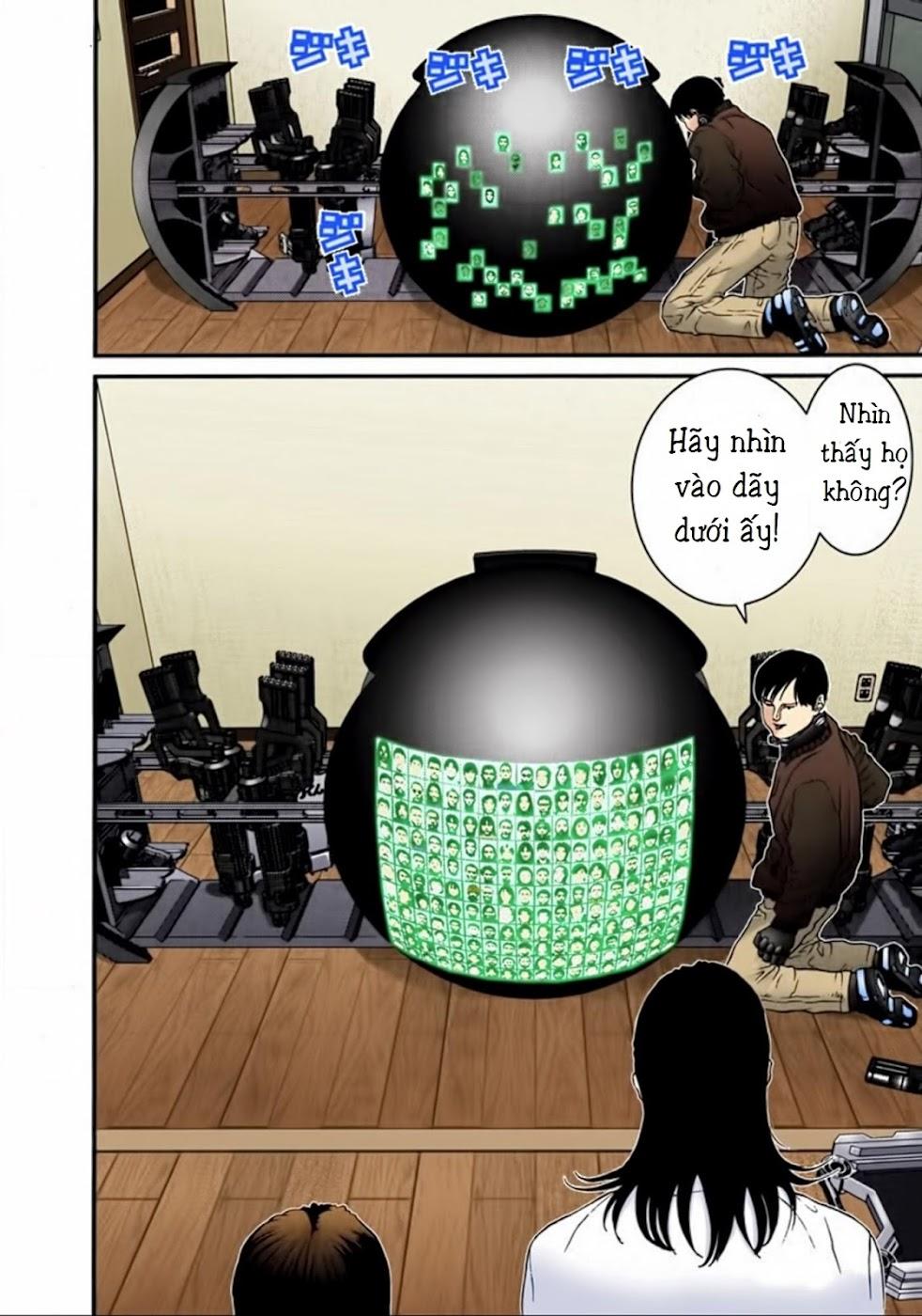 Gantz Chap 20: Số điểm trang 16