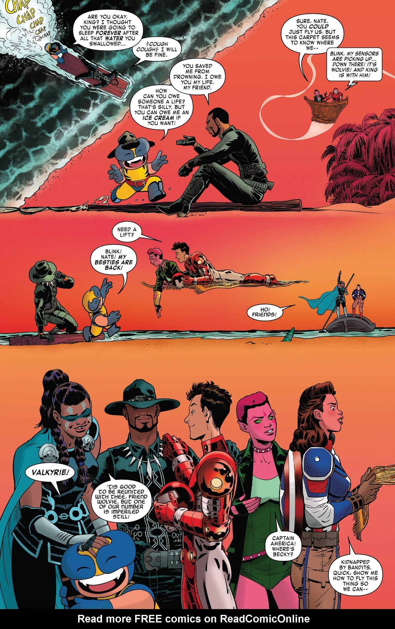 Exiles (2018) #9 - Read Exiles (2018) Issue #9 Page 18