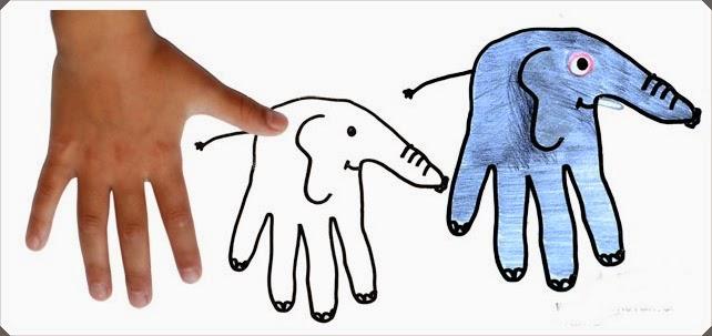 El şekilleri Ile Kolay Hayvan Resimleri çizimi