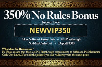 no rules bonus online casino