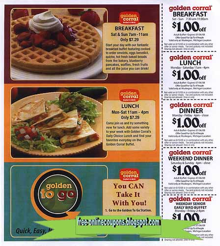 Golden corral breakfast coupons printable 2018