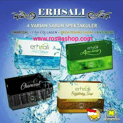 Sabun ERSHALI FISH COLLAGEN SOAP