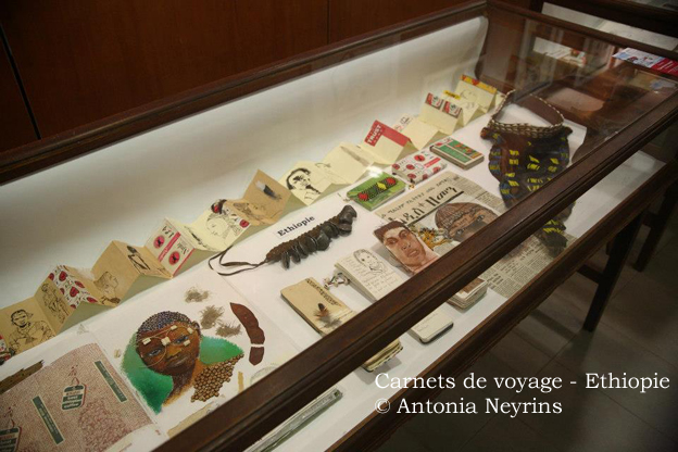 exposition carnets voyage carnet antonia neyrins rencontre atelier scolaire