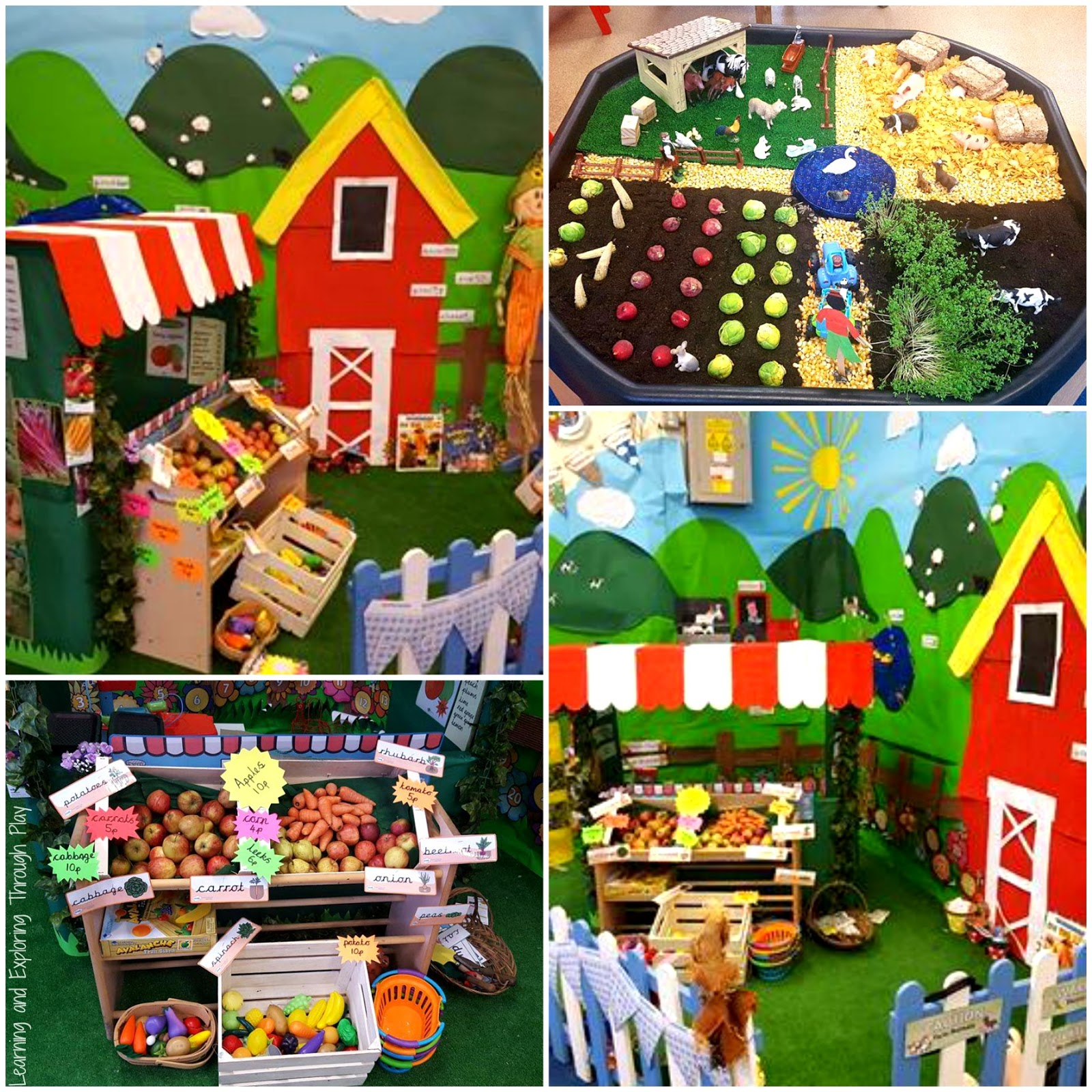 Learning And Exploring Through Play Farm Activities For