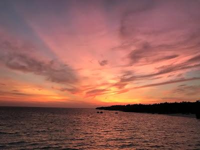 多良間の夕日