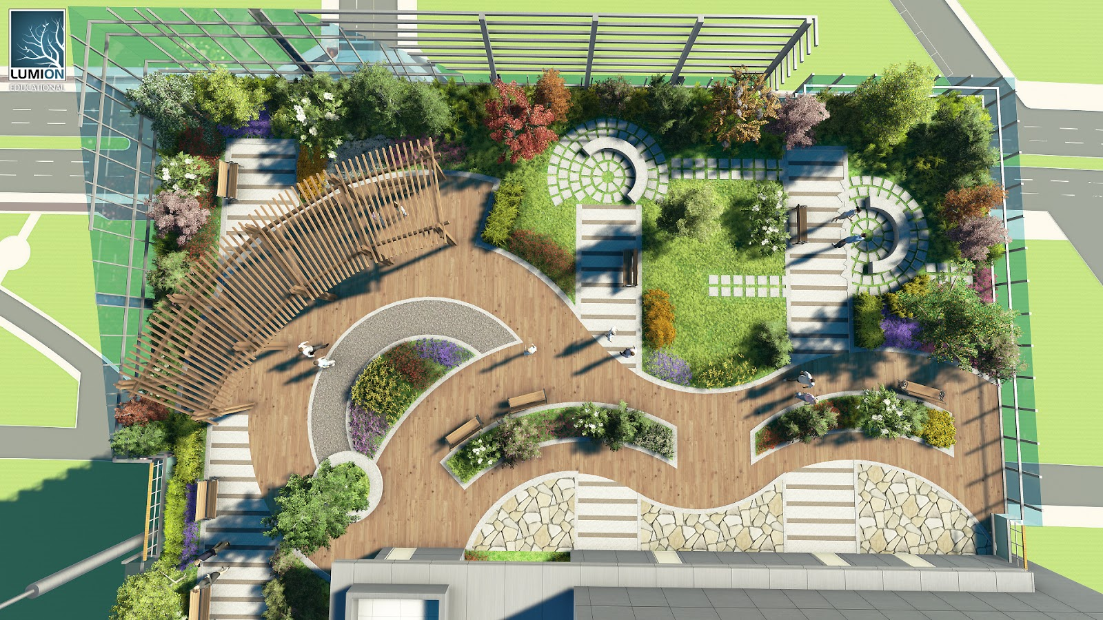 20 Desain Roof Garden Rumah Minimalis