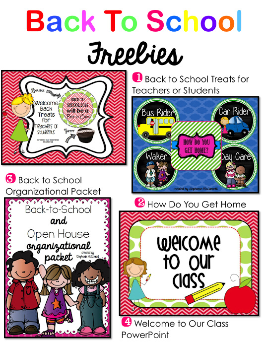 Back to School Freebie Link Up
