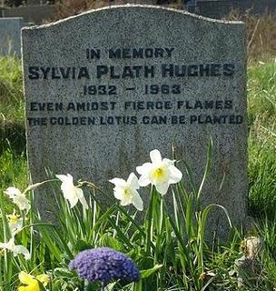 Tumba de Sylvia Plath