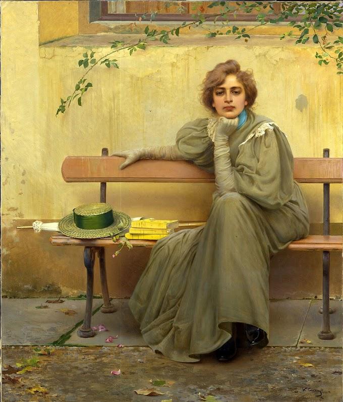 لوحة أحلام الإيطالي فيتوريو ماتيو