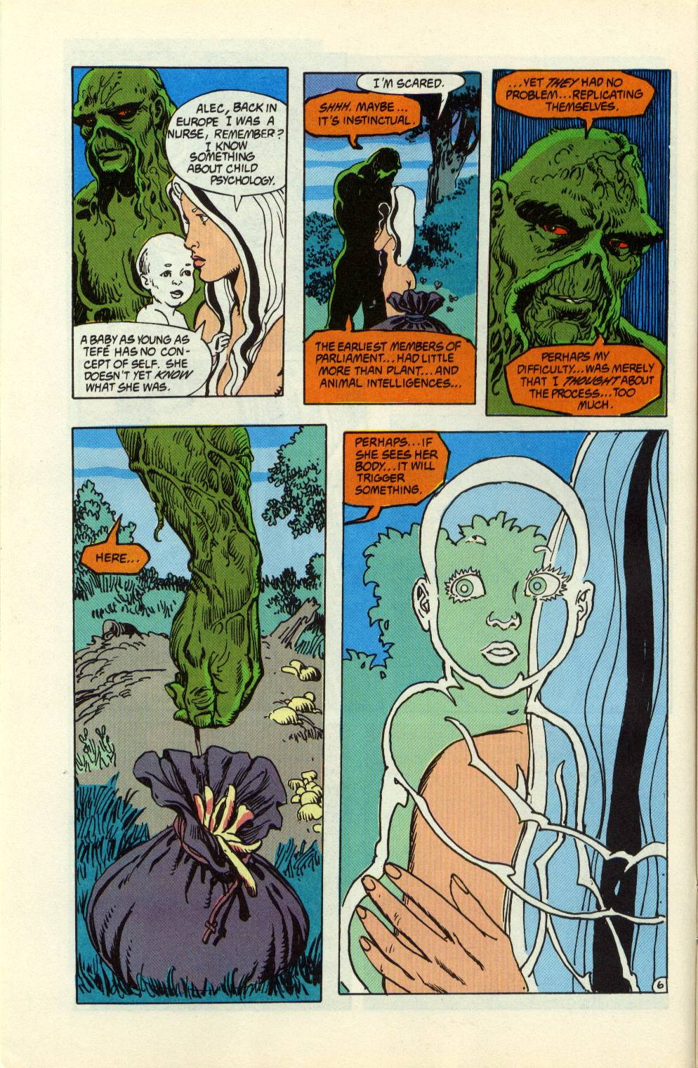 Swamp Thing (1982) Issue #99 #107 - English 7