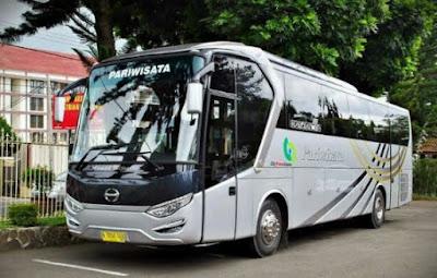 sewa bus city trans utama depok