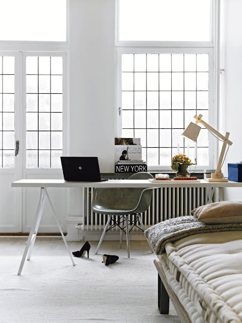 Home Office Berlin Lamb & Blonde: Berlin Beauty: The Home Of Nina Bergsten