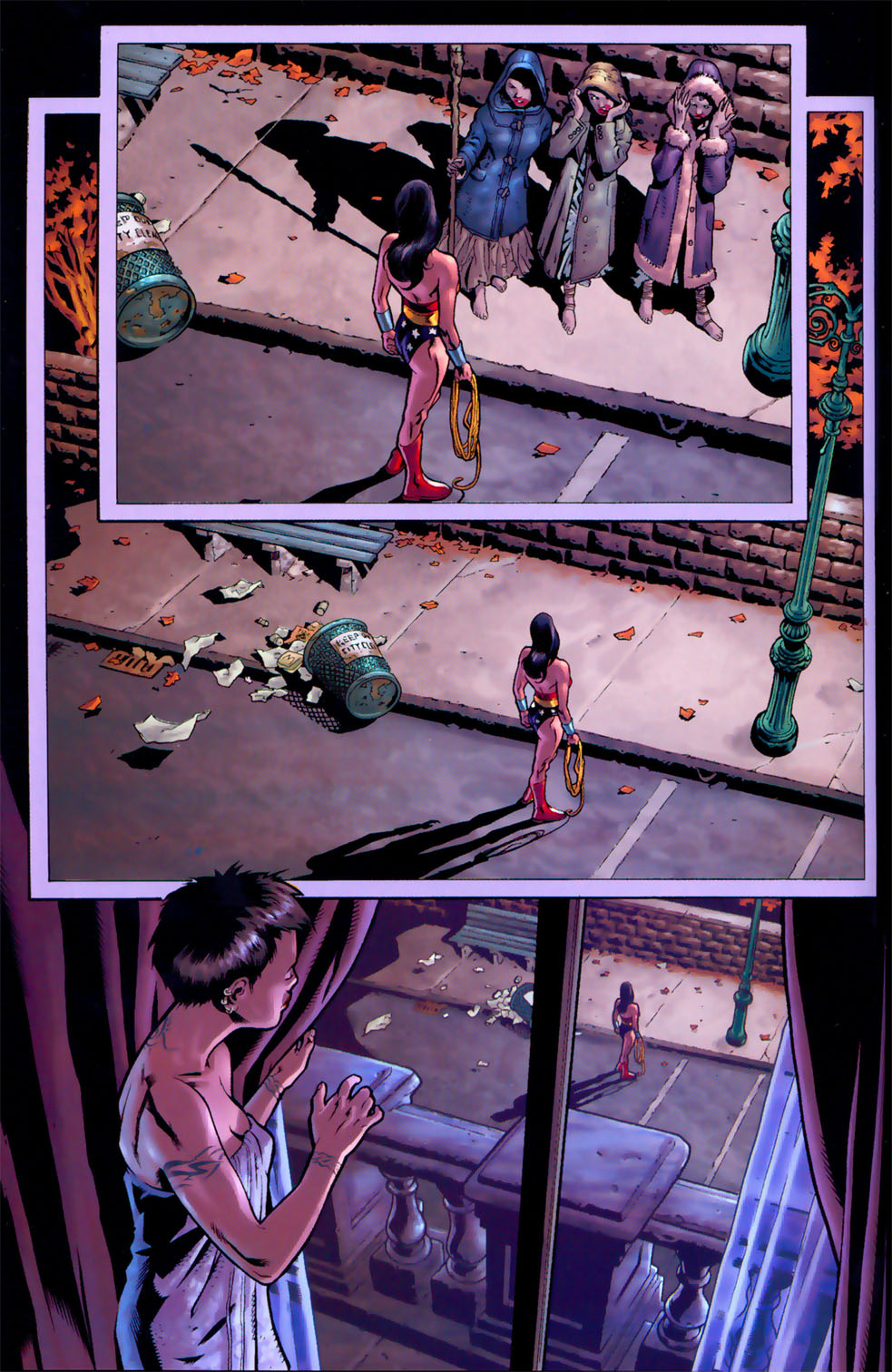 Read online Wonder Woman: The Hiketeia comic -  Issue # Full - 48