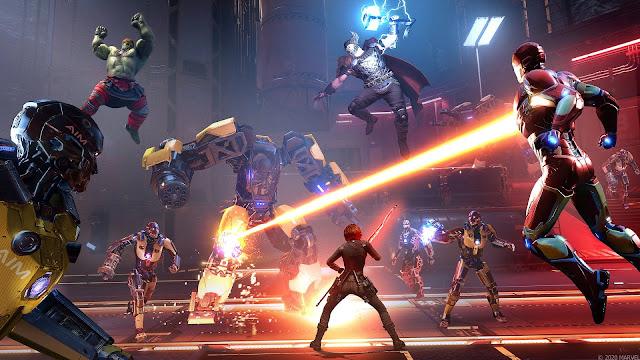 marvel's avengers war table news update, online co-op gameplay, release date, ms marvel, thor, captain america, iron man, black widow, hawkeye, easter eggs, teaser