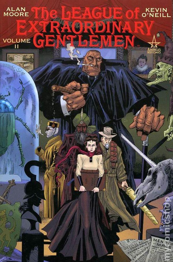 That Comic Book Blog: The League of Extraordinary Gentlemen