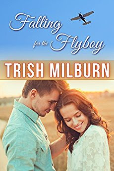 Book Review: Falling for the Flyboy, by Trish Milburn, 4 stars