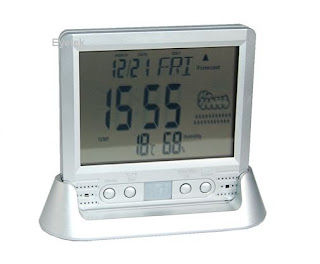 Hidden Digital Clock Camera Recorder