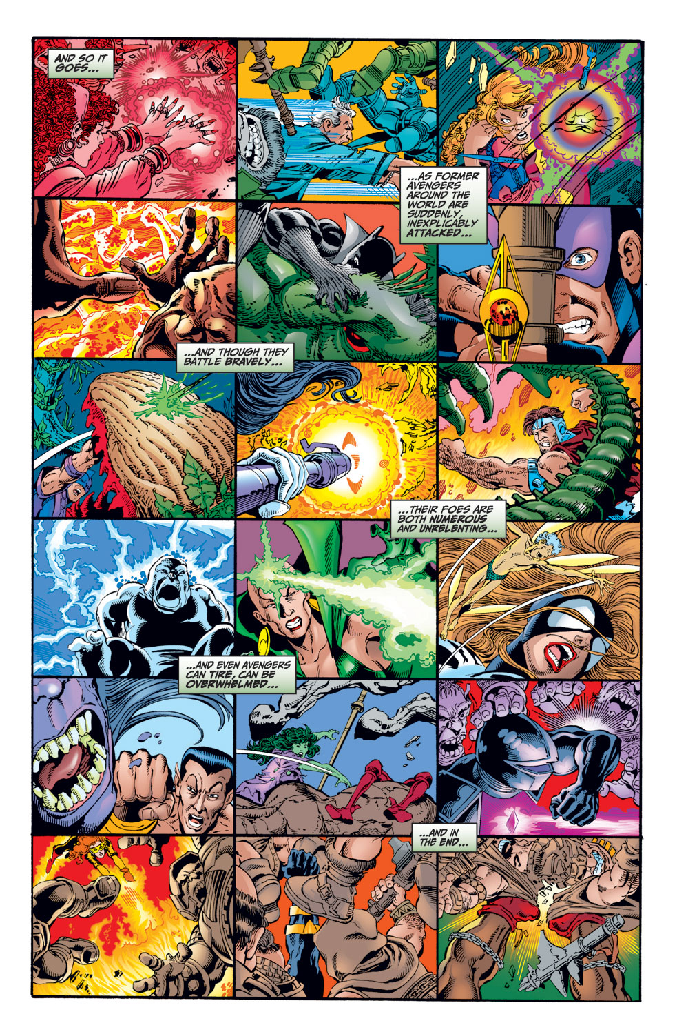 Avengers (1998) issue 1 - Page 8