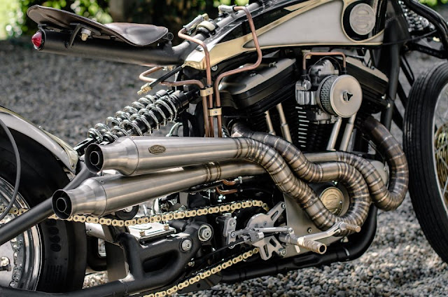 Harley Davidson Sportster By South Garage Motorcycles Hell Kustom