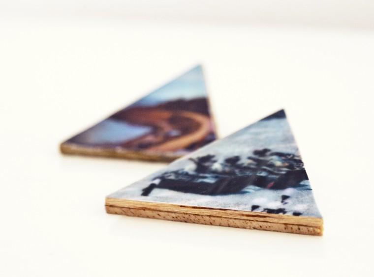 Como hacer un Broche, Insignia o Pin de Madera con Papel