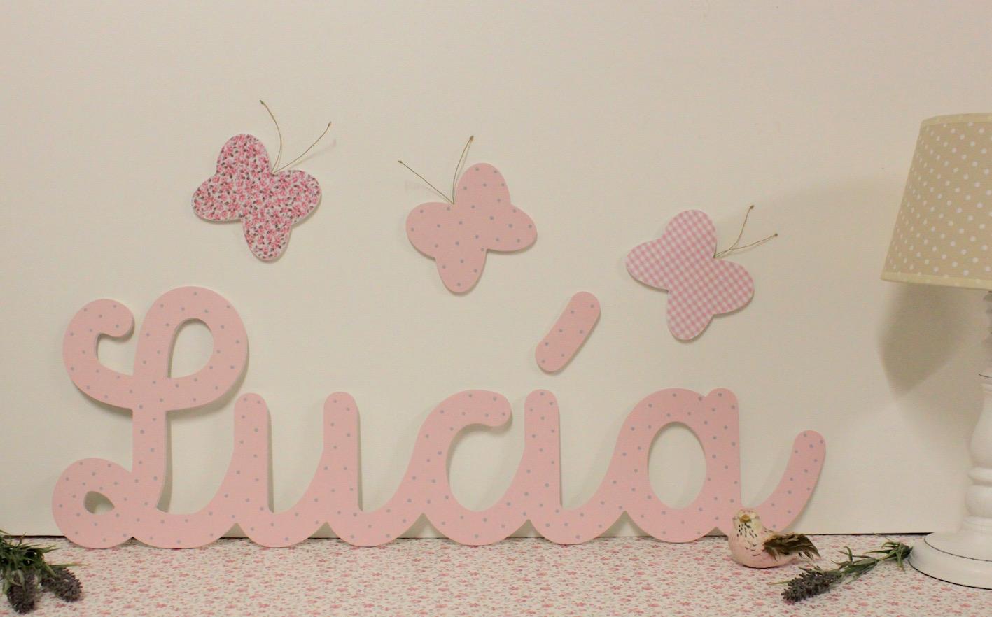 Letras y nombres infantiles para decorar  DECORACIN INFANTIL PERSONALIZADAdecoracion infantil personalizada