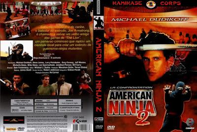 Filme Guerreiro Americano 2 - O Confronto (American Ninja - The Confrontation) DVD Capa