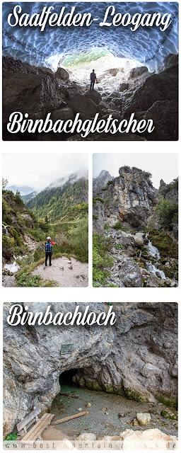 Birnbachloch und Birnbachgletscher Saalfelden-Leogang