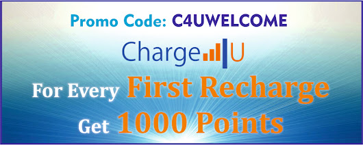 Get 1000 Points for Every First Recharge..