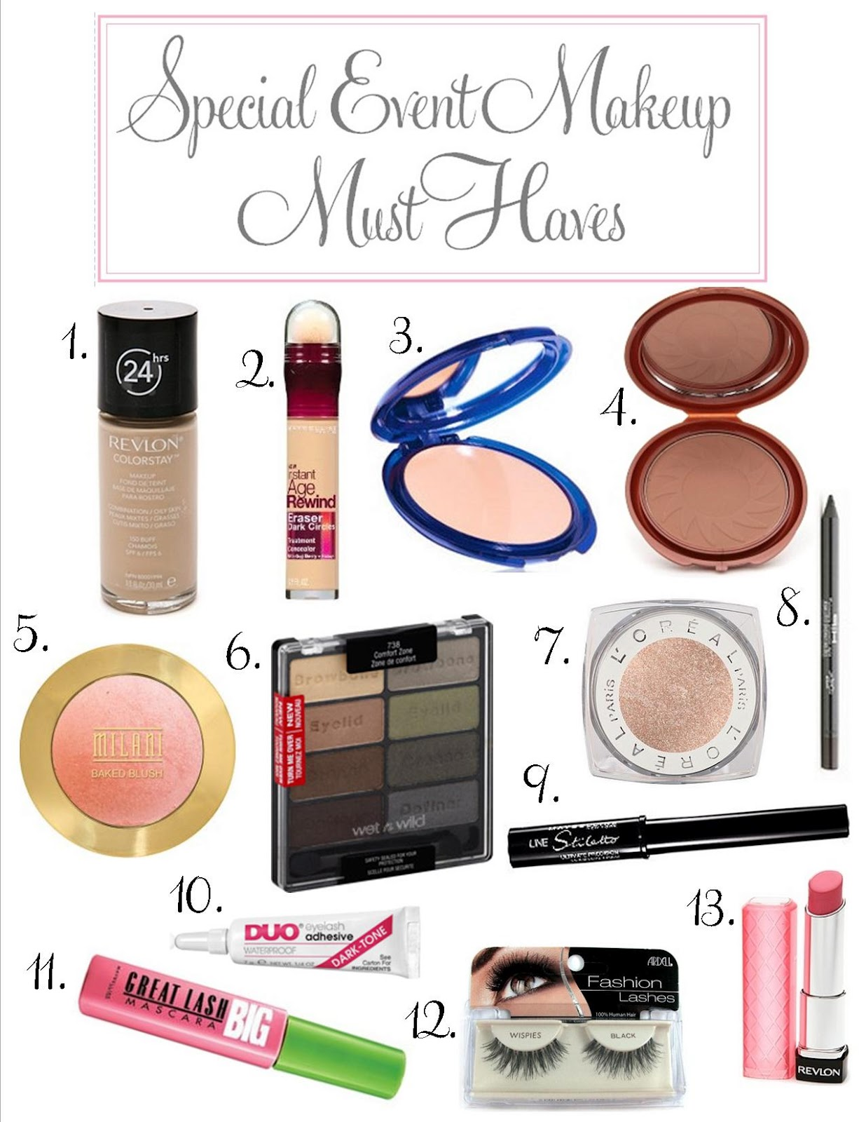 Best Drugstore Makeup For Oily Skin