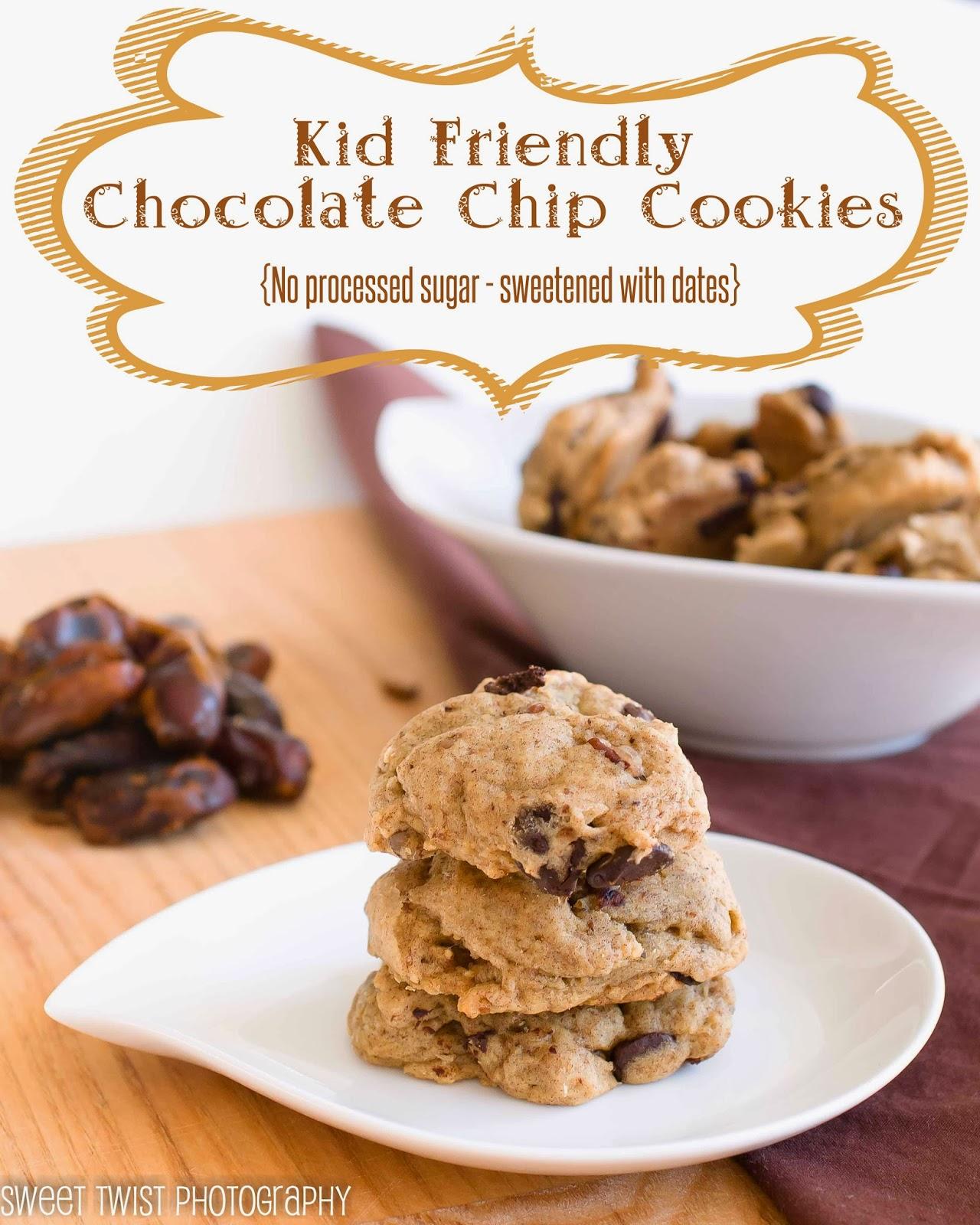 Kid Friendly Backyard Landscaping: Sweet Twist Of Blogging: Kid Friendly Chocolate Chip Cookies