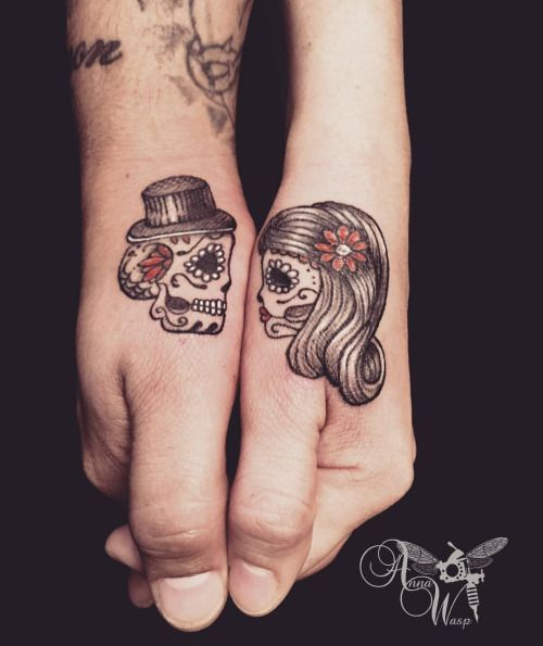 25 Lovely Matching Tattoos For Couple