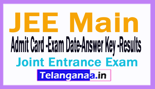 JEE Main 2018 Counselling Download